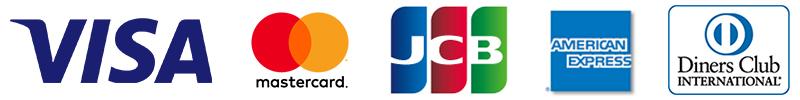 立風屋で使用可能なクレジットカード|VISA/Master/JCB/Diners/Amex