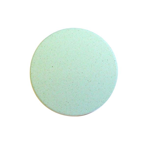 おしゃれ(オシャレ・お洒落)な珪藻土コースター 北欧風 グリーン 緑 無地  単彩シリーズ