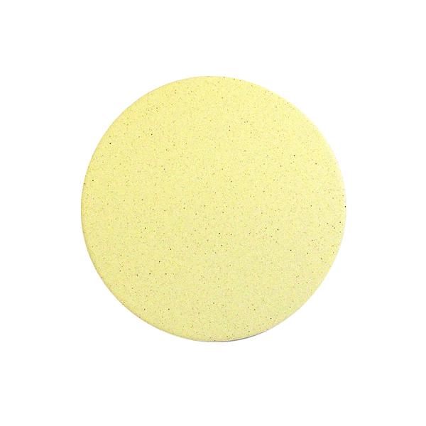 おしゃれ(オシャレ・お洒落)な珪藻土コースター 北欧風 イエロー 黄色 無地  単彩シリーズ
